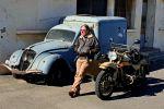 Casablanca: Retro Classic Sidecar Tour in Old Casablanca