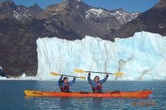 El Calafate: Caiaque em Perito Moreno com Transporte