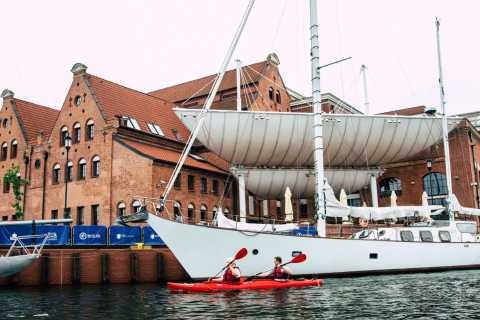 Gdansk: Guided Kayak Tour