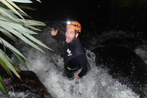 Raglan: Sunset Canyoning Tour and Glowworm Experience