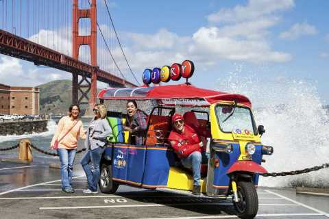San Francisco: Ultimate Tuk Tuk City Tour
