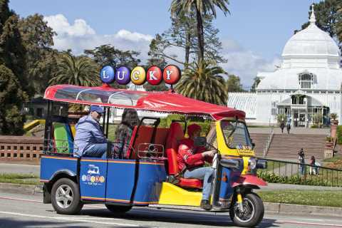 San Francisco: Private 3-Hour Tuk Tuk City Tour
