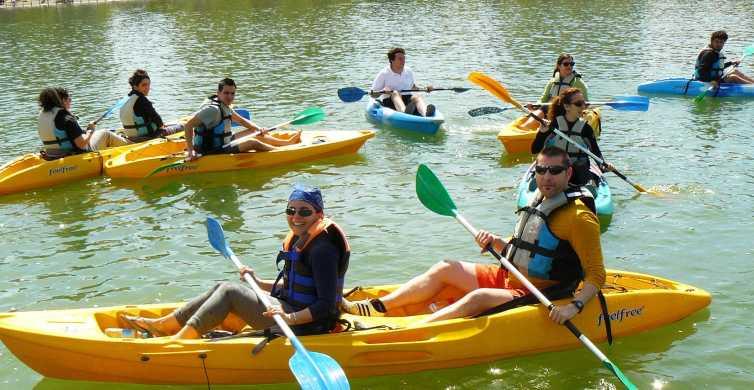 Ab Sevilla: Kajak-Tour auf dem Fluss Guadalquivir
