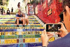 Excursão Corcovado, Pão de Açúcar e Escadaria Selarón 6 H