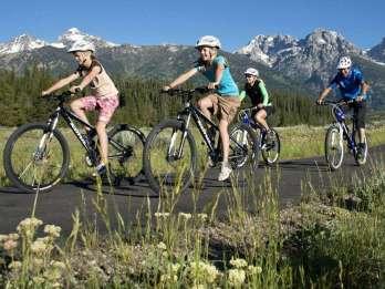 Von Jackson: Geführte Radtour mit Antelope Flats