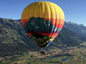 Jackson Hole Sunrise Heißluftballonflug