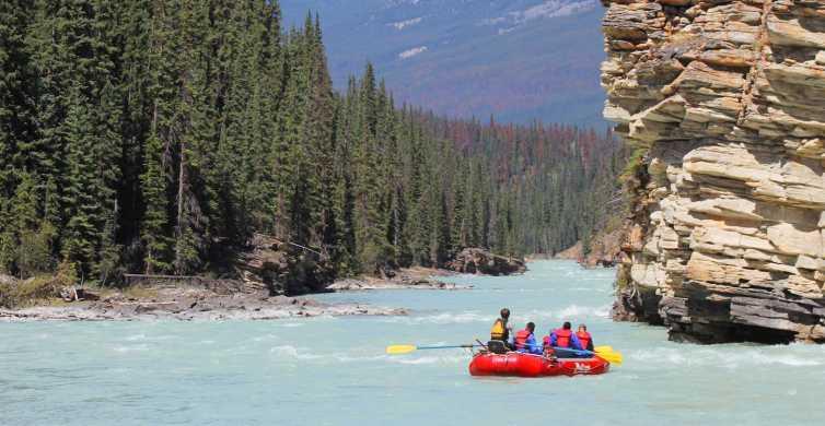 Jasper: Canyon Run Family Whitewater Rafting
