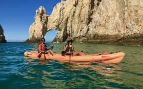 Los Cabos: The Arch and Lover's Beach Kayaking + Snorkeling