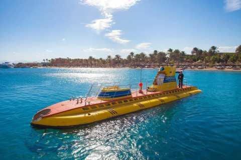 Hurghada: tour con sottomarino (3 ore) e transfer dall'hotel