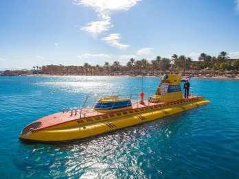 Hurghada: 3 Stunden Rundfahrt im U-Boot mit Hotelabholung