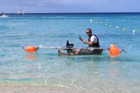 Barbados: Excursão Folclórica de Caiaque em Recife de Coral de Folkestone