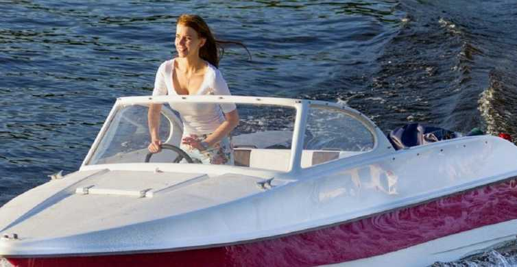 Moscow: Private Speedboat Rental Without A Skipper