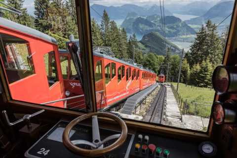 Golden Round Trip from Lucerne: Mt. Pilatus Self-Guided Tour