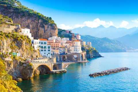From Naples: Shore Excursion to Positano, Amalfi and Ravello
