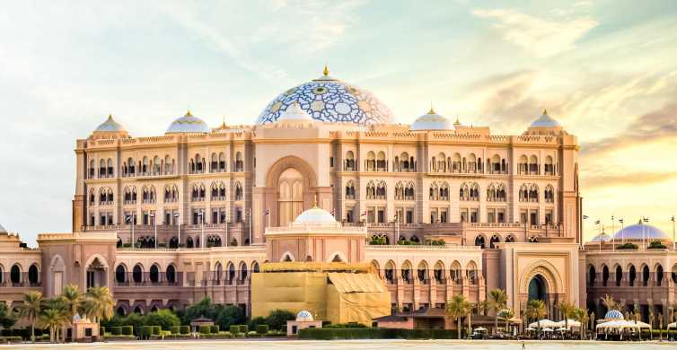 Abu Dhabi: Emirates Palace Coffee or Dine-in with Transfers