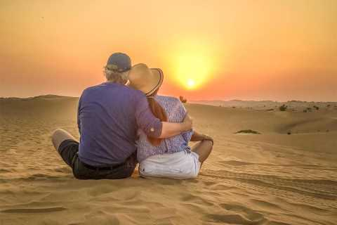 Doha: Sunset Desert Safari with Camel Ride and Sandboarding