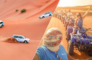 Dubai: Wüstensafari, Quadtour, Kamelritt und Al-Khayma-Camp
