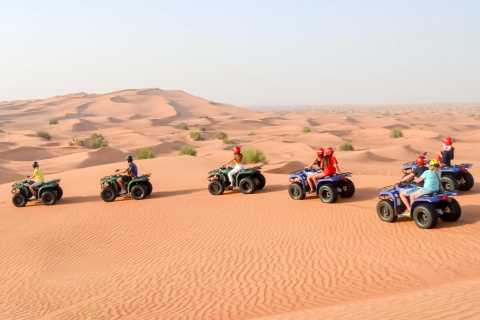 Dubai: Morning Quad Bike, Sandboarding and Camel Ride
