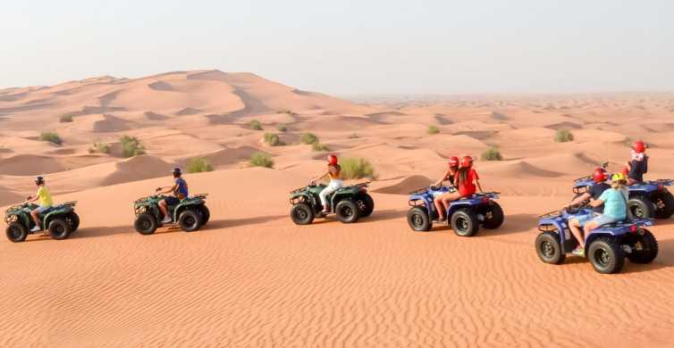 Dubai: Morning Quad Bike, Sandboarding and Camel Ride