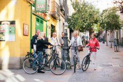 Excursão de bicicleta de 3 horas em Madri em inglês