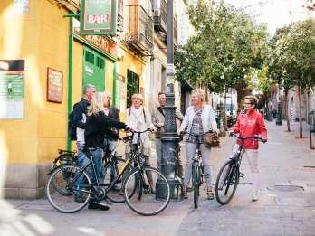 Madrid: Fahrradtour auf Englisch
