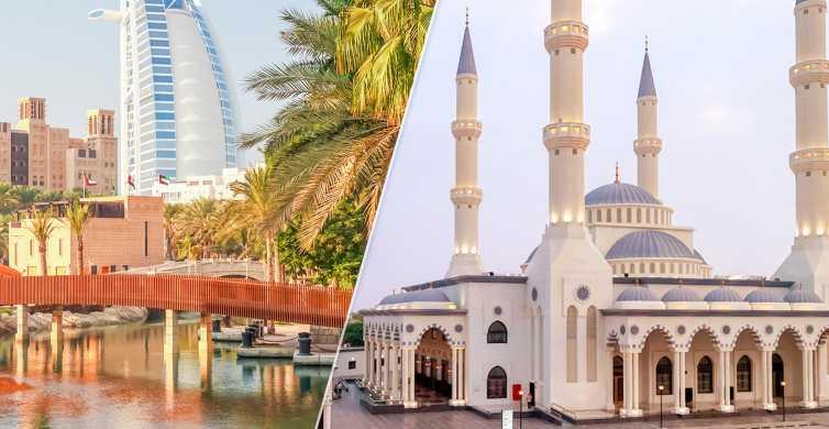 Altes und Neues Dubai: Stadttour mit blauer Moschee