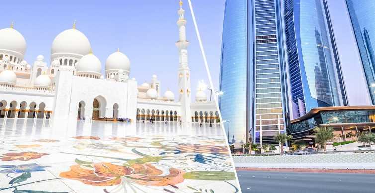 De Dubai: Excursão Pequeno Grupo a Abu Dhabi e Torres Etihad