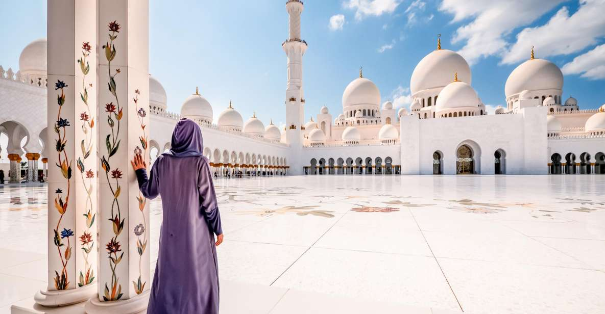 From Dubai: Abu Dhabi Full-Day Sightseeing Trip