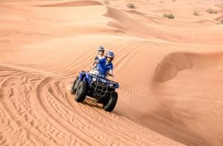 Dubai: Dünen-Quad-Tour, Kamelritt & BBQ - Landausflug
