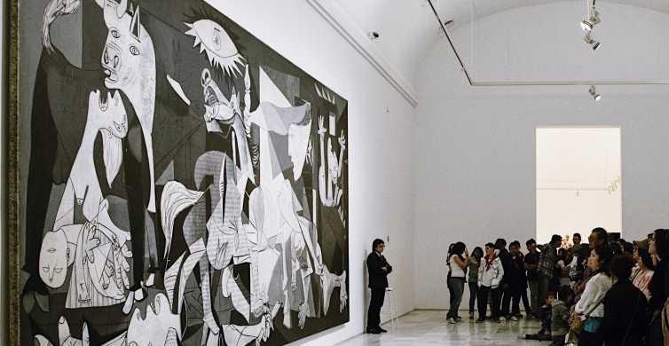 Madri: Museu Reina Sofia Visita do Museu Guiado Salteada