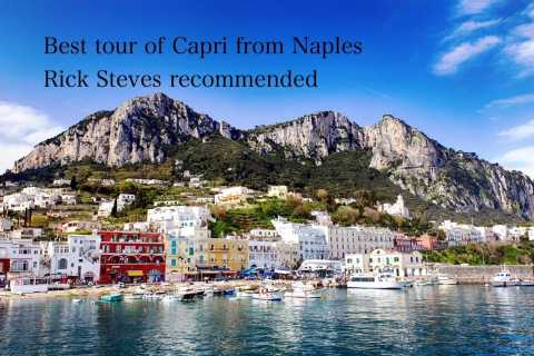 From Naples: Tour of Capri with Lunch