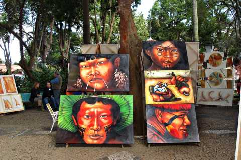 From São Paulo: Embu das Artes Tour with Handicraft Market