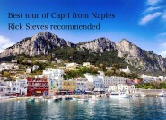 Ab Capri: 6-stündige Highlights-Tour