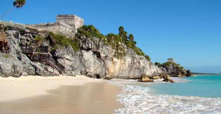 From Playa del Carmen: Tulum Ruins, Caves & Turtles