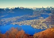 Ab Mailand: Comer See und Lugano Tagestour