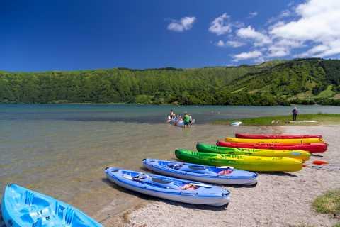 São Miguel Island: Canoe Rental on Sete Cidades Blue Lake