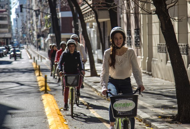 Noord- of Zuid-Buenos Aires fietstocht