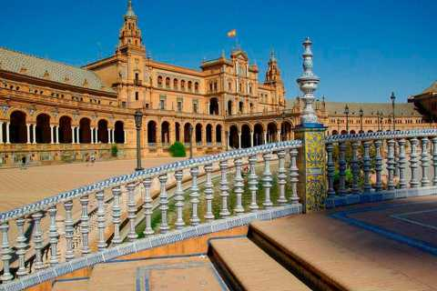 From Algarve: Seville City Guided Tour