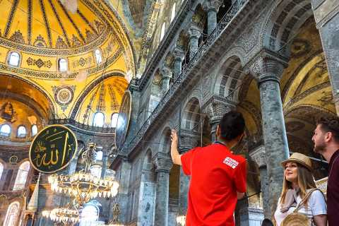 Istanbul: accesso prioritario a Santa Sofia con audioguida
