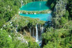 De Zadar: transporte de ida e volta para os lagos Plitvice