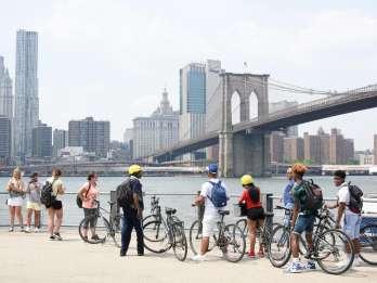 Von Manhattan: 2-stündige Fahrradtour mit Brooklyn Bridge