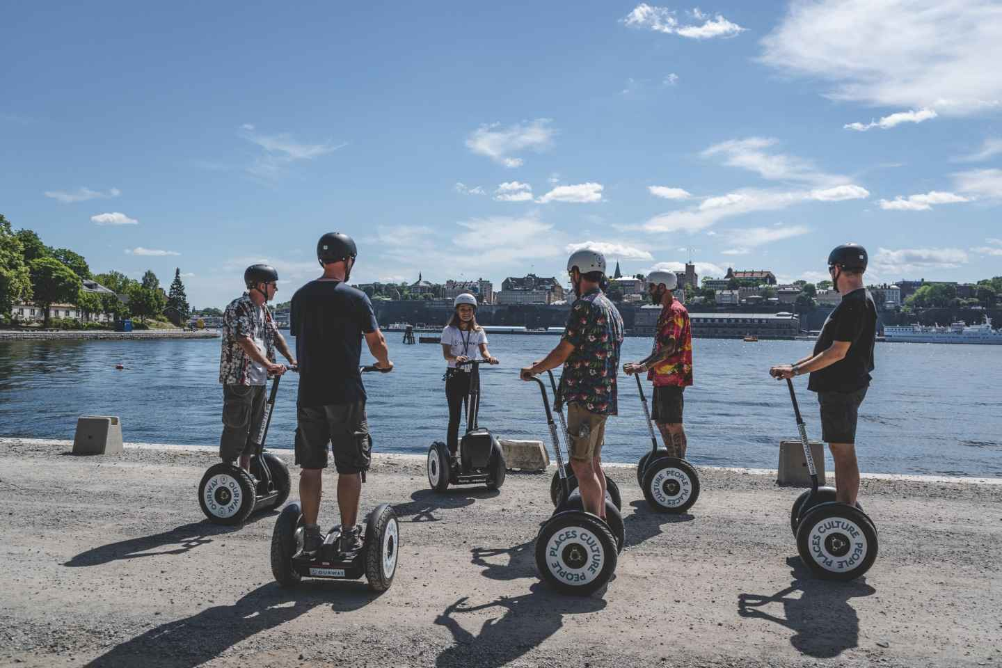 Stockholms Highlights: 2-stündige Segway-Tour