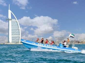 Dubai: Marina, Atlantis & Burj Al Arab per Schnellboot