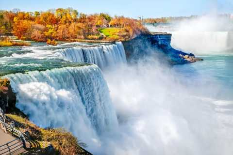 Cascate del Niagara: tour lato americano e Maid of The Mist