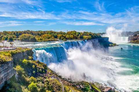 Niagara Falls VS: luxe Canadese en Amerikaanse daguitstap