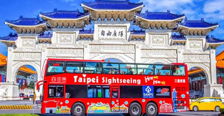 Taipei: 24 or 48-Hour Hop-on-Hop-off Bus Ticket