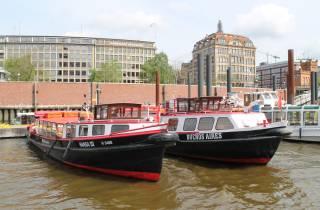 Hamburg: 1-stündige Bootstour durch die Hansestadt