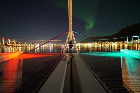 Tromsø: Northern Lights Luxury Catamaran Cruise