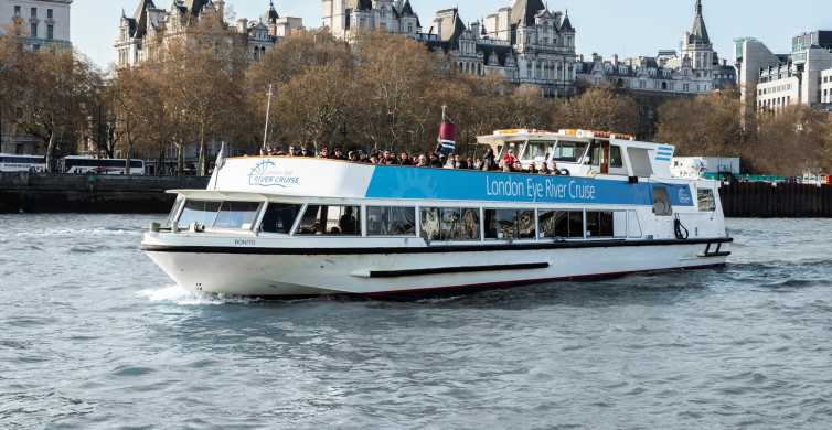 The London Eye River Cruise en entree-opties