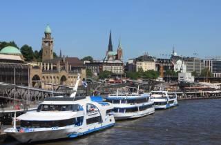 Hamburg: Kombiticket Stadtbustour und Hafenbootsfahrt